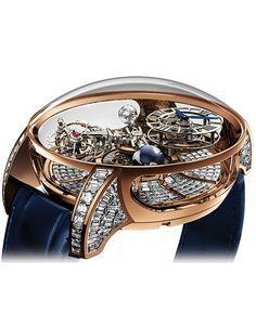 ASTRONOMIA TOURBILLON BAGUETTE   Jacob & Co.   Timepieces   Fine Jewelry   Engagement Rings