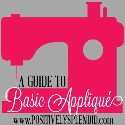 beginners' guide to basic appliqué