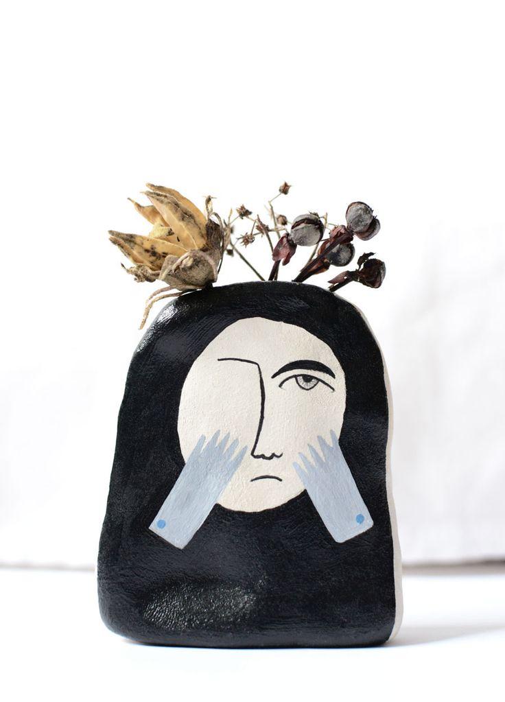 ceramic, sculpture. http://www.iwonaszczepanik.com/