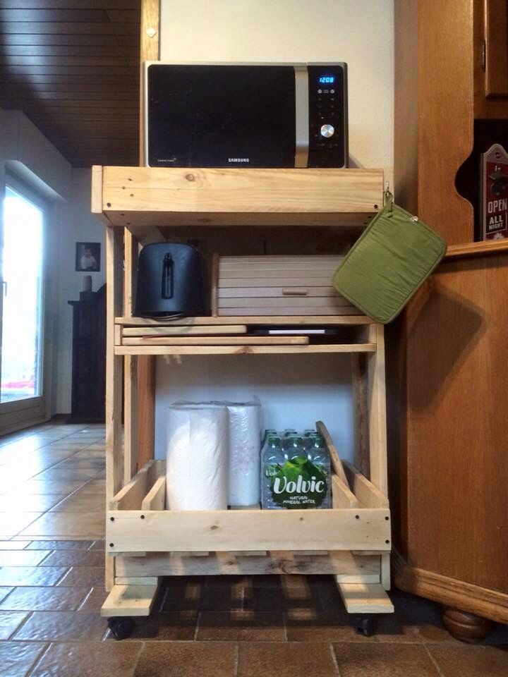 Top 25 Ideas About Microwave Stand On Pinterest Upcycled