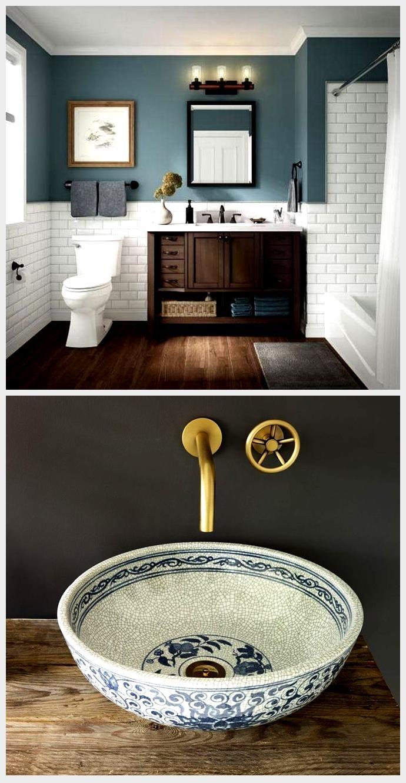 20 Charming Badezimmer Dekor Ideen Mit Blauen Farben Trendedecor Schone In 2020 Badezimmer Dekor Badezimmer Dekor