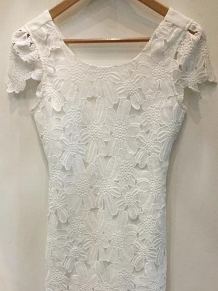 Bella Ragazza, vestido de encaje corto, vestido de encaje corto