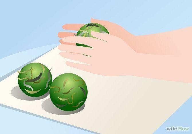 Make Green Tea Bath Bombs #DIY #spa #home