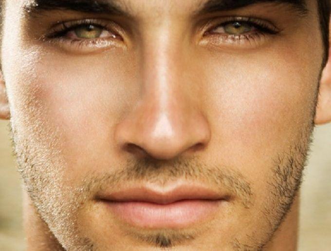 Good looking men eyes and facials on pinterest