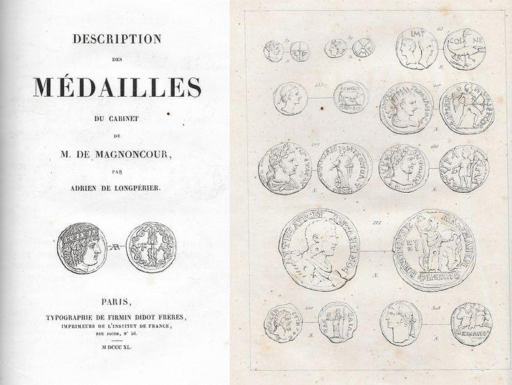 Longpérier: Description des Médailles du Cabinet de M. de Magnoncour