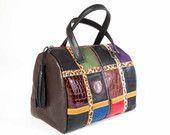 Bolso baúl. Colección MANUELA