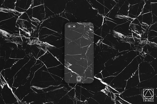 THINGS - Marble collection - iPhone case