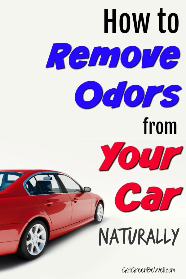 Baking soda to remove smoke smell from car