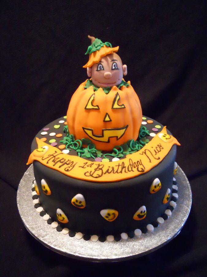 13 best cakes images on Pinterest Halloween birthday cakes - halloween birthday cake ideas