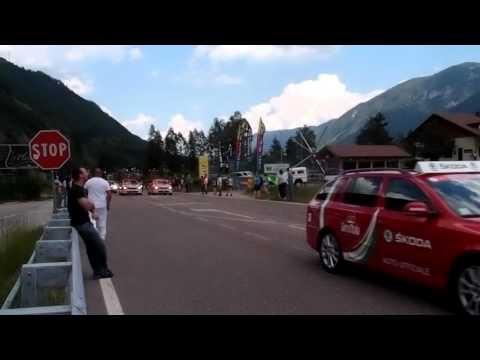 Giro d'Italia @ the Dolomiti Camping Village & Wellness Resort