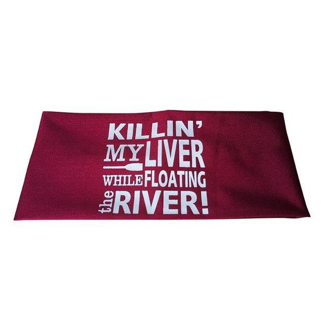 KILLIN MY LIVER... Sport Headband (7 colors)