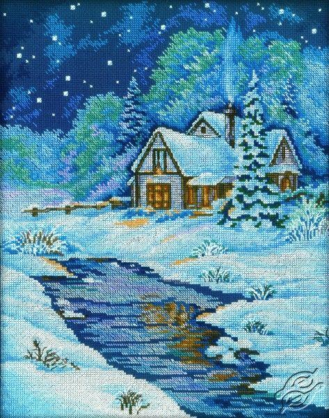 Winter Memoirs - Cross Stitch Kits by RTO - M197