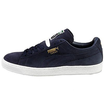 Puma Suede Classic+ Mens 356568-52 Peacoat Blue Athletic Shoes Sneakers  Size 10