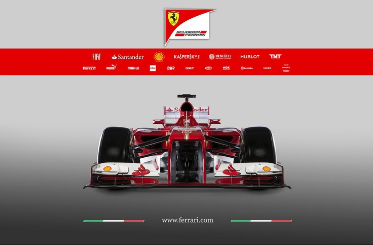 Ferrari F138 Side Profile