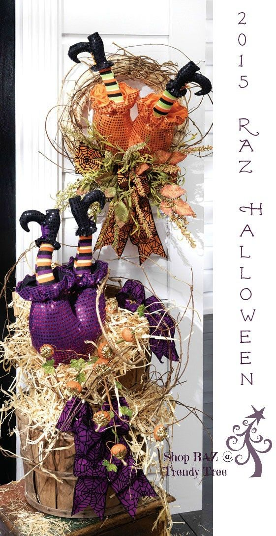 great decorating ideas from raz for their 2015 witch butt with legs halloween decoration put - Raz Halloween Decorations