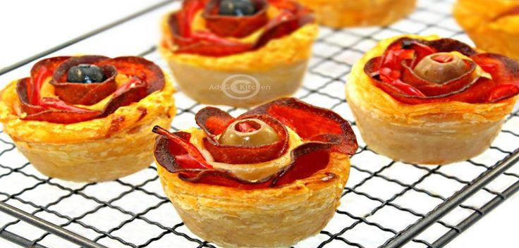 Trandafiri de pizza - Adygio Kitchen