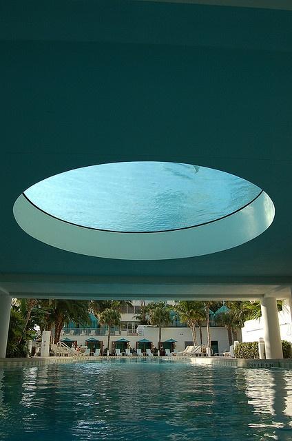 Upper Pool With Glass Bottom The Westin Diplomat Resort