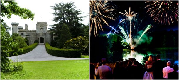 At Eastnor Castle in Herefordshire you can finish your perfect wedding day with a fireworks display. Over on our blog we've complied a complete guide to organising your display along with sensational song choices.