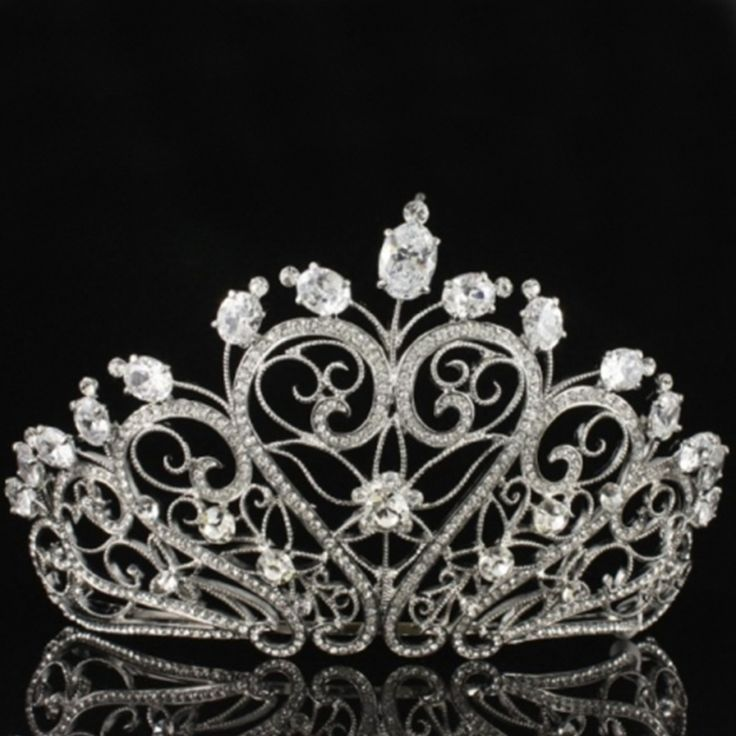 tiaras and crowns pictures | Euphoria Boutique Swarovski Crystal Tiara Crown