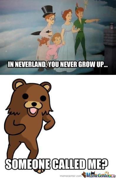 Pedobear & Neverland