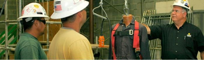 Sunbelt Rentals' scaffold safety training courses prepare individuals to become a Competent Person for scaffolding and suspended platform/swing stages. Courses vary and may involve classroom and hands-on training. These courses meet the requirements for OSHA 1926.454 (b). 866-455-4106 #sunbeltrentals #equipmentrentals