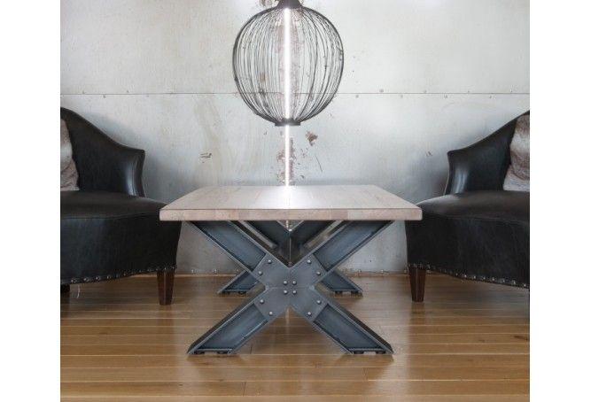 Table basse Esprit Loft 130x70cm.
