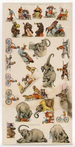 76.301: Circus | paper toy | Play Sets | Toys | Online Collections | The Strong