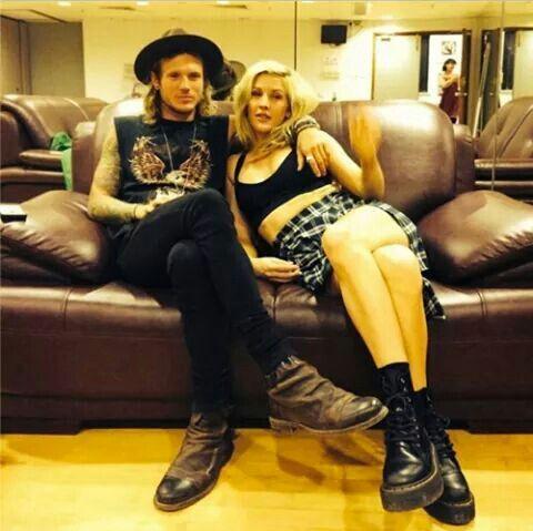Ellie and Dougie Poynter