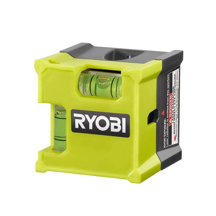 Ryobi Laser Cube Compact Laser Level-ELL1500 - The Home Depot