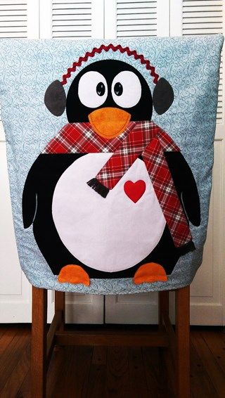 Penguin Chair Cover
