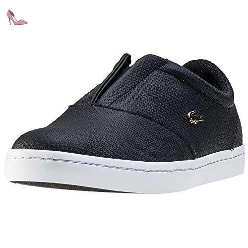 Lacoste Straightset Slip 316 2 Femmes Glisser Black - 5 UK - Chaussures lacoste (*Partner-Link)