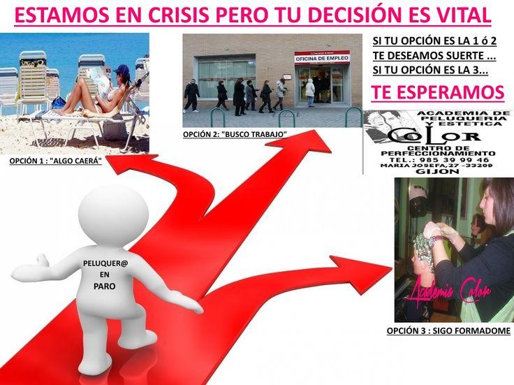 Aprovecha la crisis para formarte. Asturias