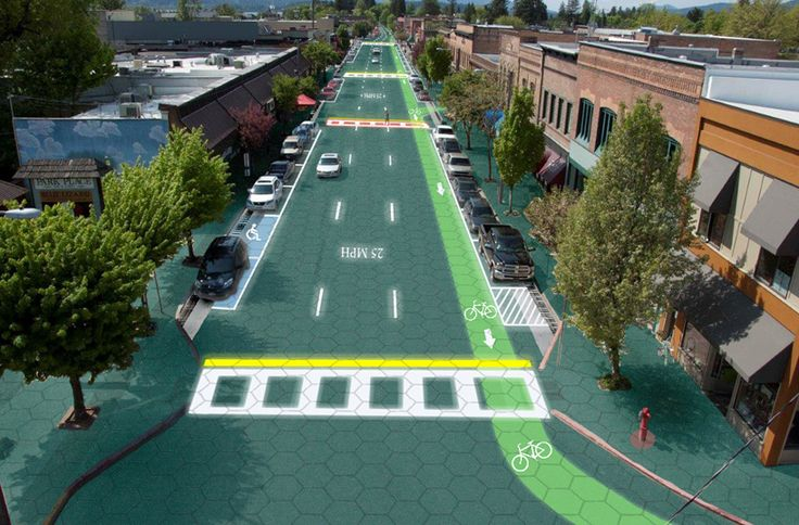 smart streets and solar roadways produce energy for the power-grid