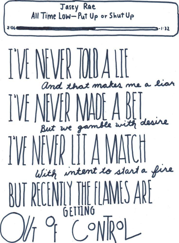 All Time Low – Forget About It Lyrics | Genius Lyrics