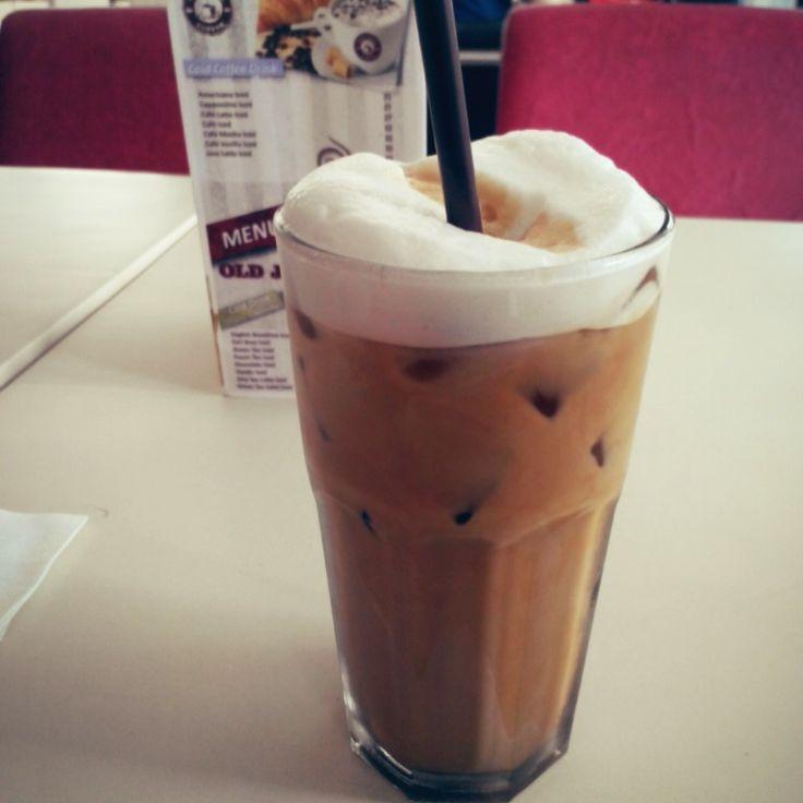Iced java latte