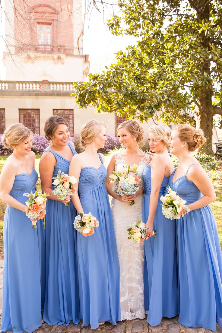 Top 25 best cornflower blue bridesmaid dresses ideas on pinterest ballroom wedding image property of j dphoto champagne ombrellifo Gallery
