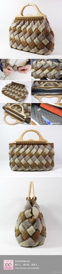 .Enterlac Knitted Bag