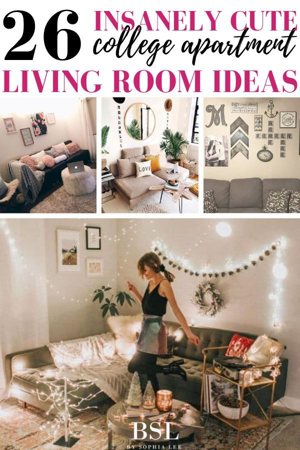 26 Insanely Cute College Apartment Living Room Ideas To Copy By Sophia Lee College Apartment Living Room Apartment Living Room Cheap Living Room Ideas Apartments