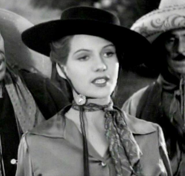 Rita Hayworth in Renegade Ranger 1938