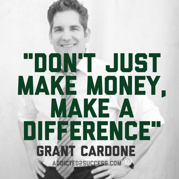 Don't just make money... @GrantCardone #quote #10X #success https://t.co/Eoh7ET4S6d https://t.co/U3mttoC7iO