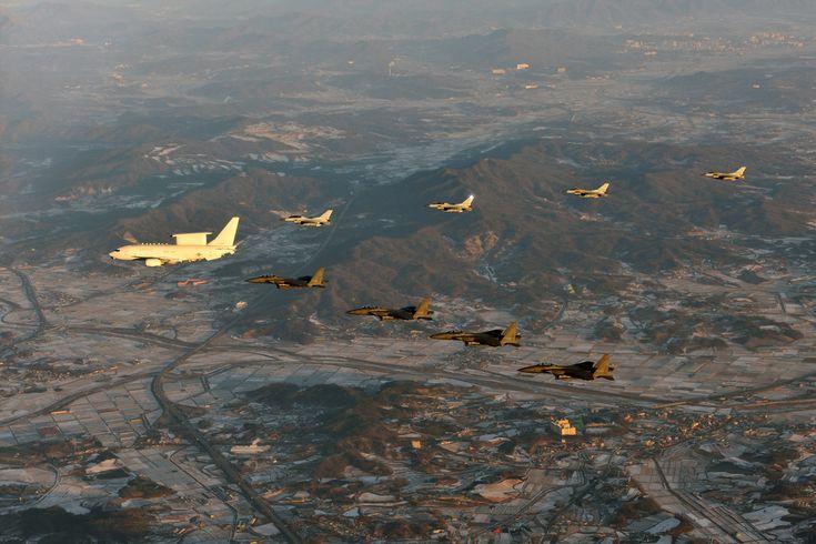 E-737 'PEACE EYE' in the air