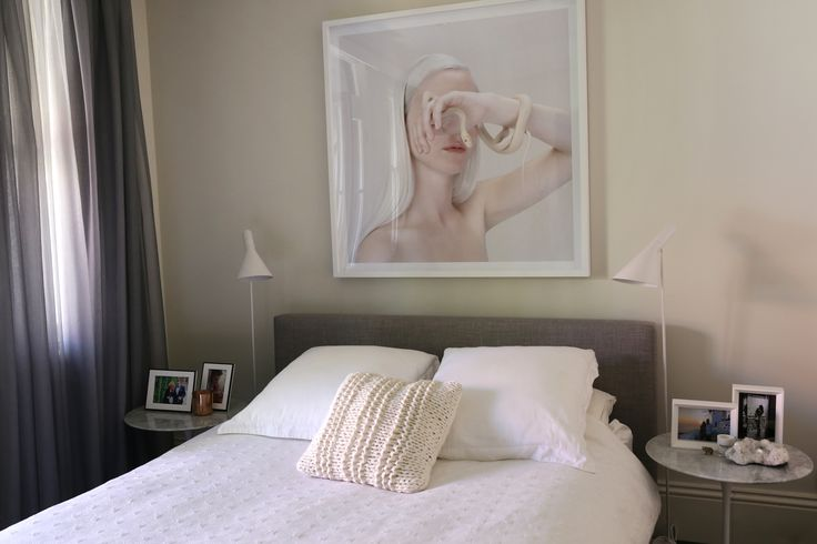 Kym Elphinstone - Articulate PR. Photography: Heidi Boardman. Bedroom interiors styling inspiration.