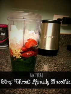 Natural Remedy for Strep Throat: Immune Boosting Smoothie - For the Love of Crust