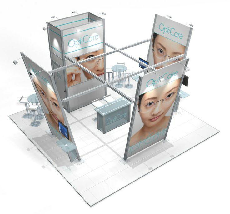 modular exhibition stand from Discountdisplays #exhibit design # Exhibition Stands # trade shows