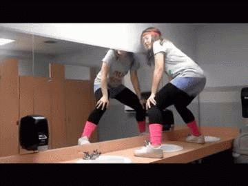 The gif format provides the perfect way to enjoy the pleasure of someone else klutziness. And remember if we can't laugh at other people we can't laugh at ourselves. #1 The Rock-a-bye-baby #2 The this cannot be real fall, but nice effort #3 The Dancing on the sink fall (we've all …