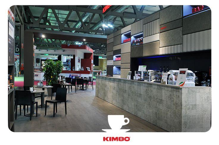 #TuttoFood2015: l'area dedicata alla degustazione dei caffè #Kimbo.