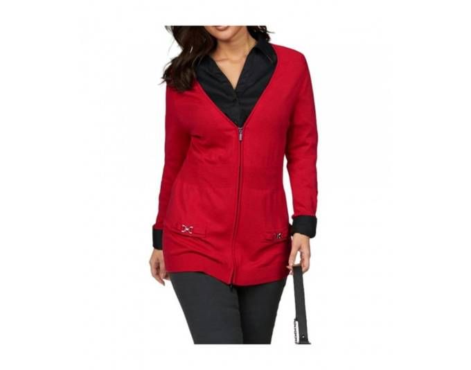 Apart Damen Strickjacke, rot Jetzt bestellen unter: https://mode.ladendirekt.de/damen/bekleidung/strickjacken-und-maentel/strickjacken/?uid=12e84378-3006-5f9b-8d83-dc44054dc90a&utm_source=pinterest&utm_medium=pin&utm_campaign=boards #strickjacken #bekleidung #maentel