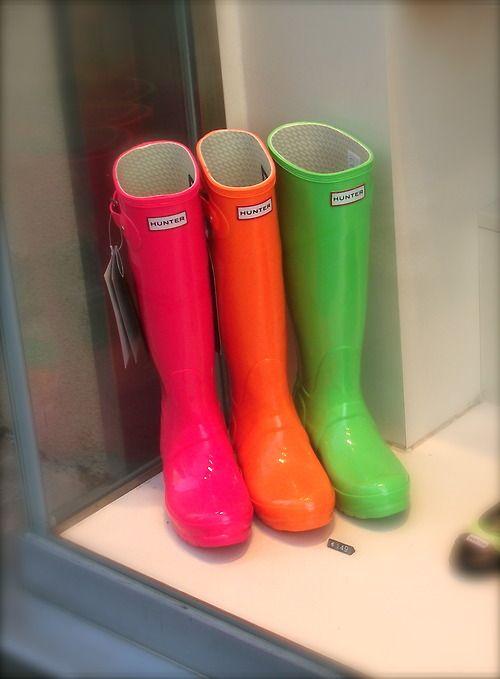 hunter boots | Tumblr