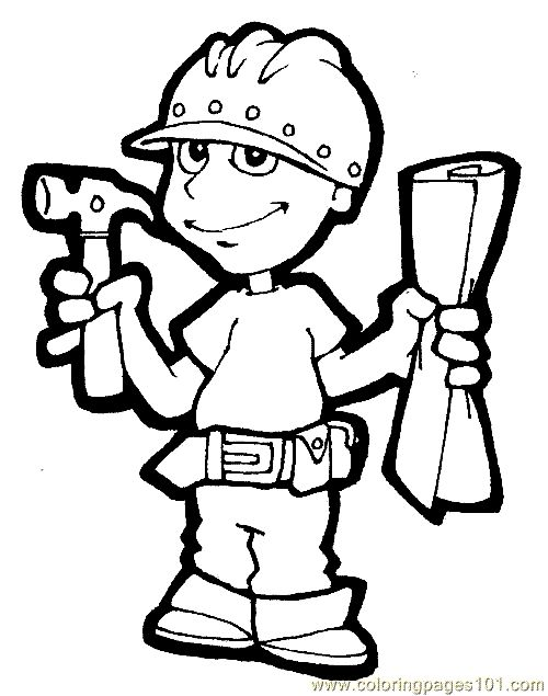 Thank you for visiting Coloring picture Of Carpenter Job, we hope this post inspired you and help you what you are looking for. If you're lo...