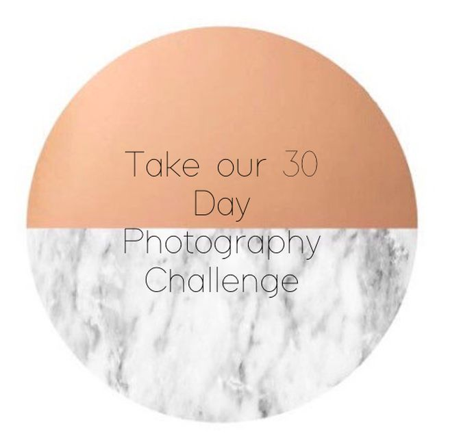 Take our 30 day photography challenge!